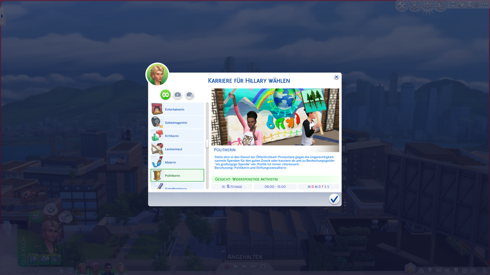 Sims 4 karriere cheat